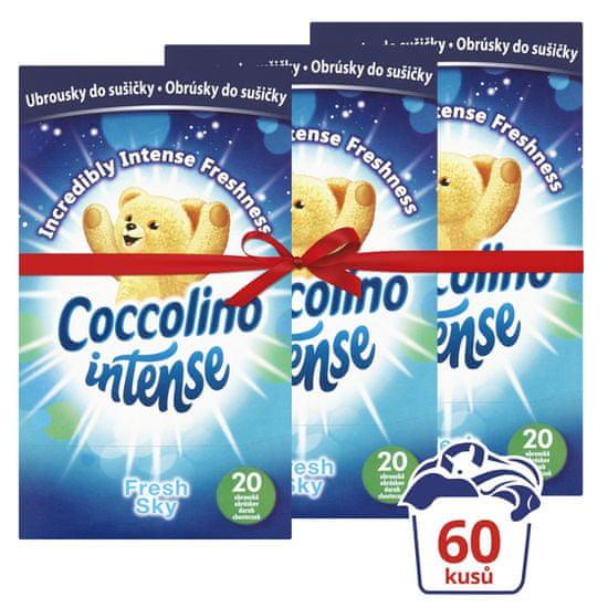Coccolino Illatosított kendő 3x 20db