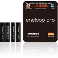 Panasonic Eneloop Pro Sliding Pack AAA 4 ks 930 mAh (4HCDE/4LE)