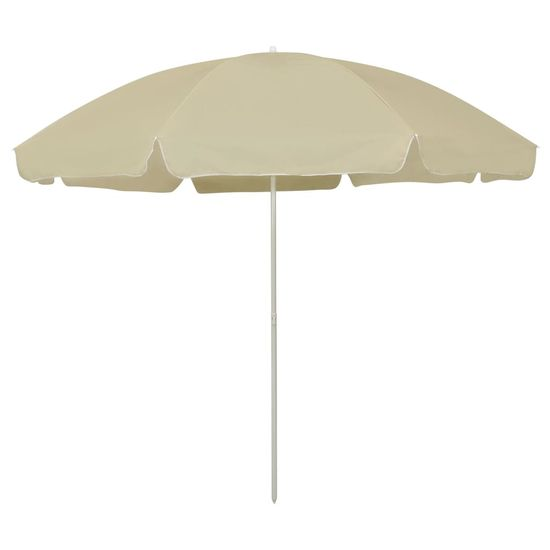 shumee homoksárga strandnapernyő 300 cm