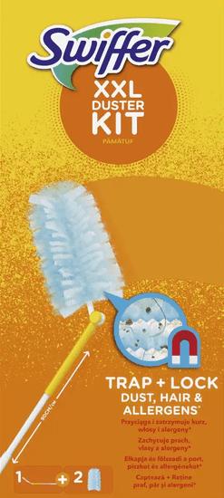 XXL Swiffer készlet száraz tisztításhoz (1 fogantyú + 2 portörlő)