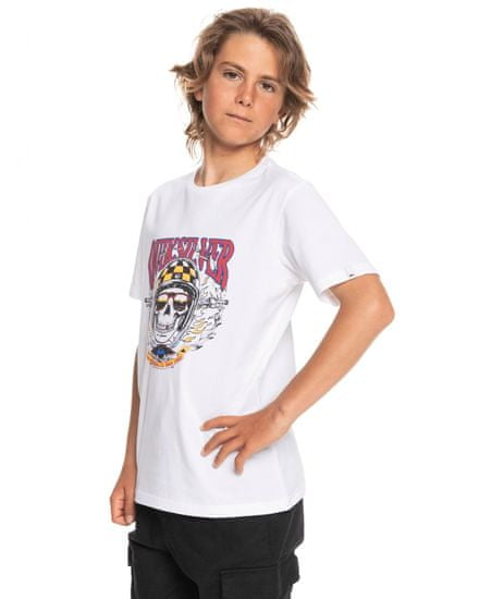 Quiksilver majica za dječake Biker skull ss youth EQBZT04373-WBB0