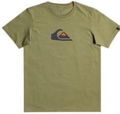Quiksilver Comp logo ss youth EQBZT04369-GPH0 fiú póló, 8, zöld