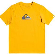Quiksilver Comp logo ss youth EQBZT04369-YMA0 fiú póló, 8, sárga