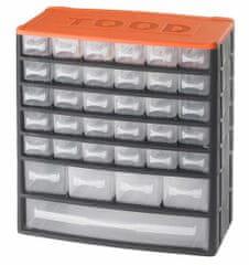 Tood Box na náradie 35 zásuviek, 330x170x350 mm, plast