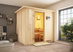 KARIBU finská sauna KARIBU SODIN (75698)
