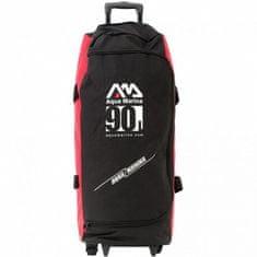 Aqua Marina Cestovná taška 90 L čierna / červená červená/čierna
