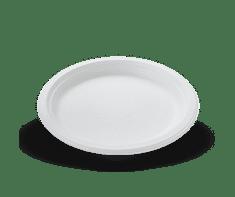 EKO status BIO Kompostovateľný tanier oválny 26 x 20 cm - 125 ks