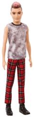 Mattel Barbie Model Ken 176 - Spodnie w kratę