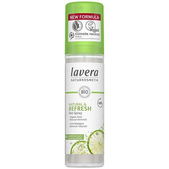 Lavera Frissítő dezodor spray lime illattal Refresh (Deo Spray) 75 ml