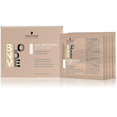 Schwarzkopf Prof. Detox ikační vitamínová kúra pre matné blond vlasy BLONDME (Vitamin Shot) 5 x 5 g
