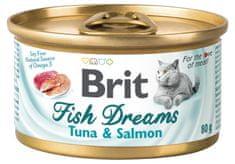 Brit Fish Dreams Tuna & Salmon 24x80g