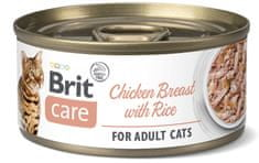 Brit Care Cat Chicken Breast with Rice 24x70 g