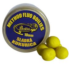 Lastia  Method fluo boilies10mm-sladká kukurica