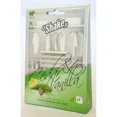 1kosmetika SHAKE vonné sáčky Cedar&Vanilla 3 ks