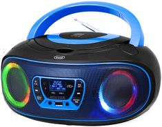 Trevi CMP 583 Boombox CD predvajalnik, črno-moder