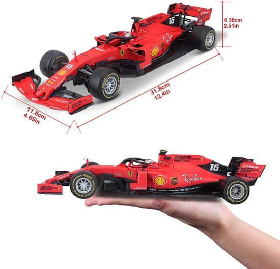 BBurago model 1:18 Ferrari Racing F1 2019 SF90 LeClercl