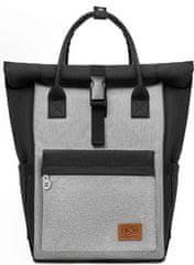 KinderKraft MOONPACK black nahrbtnik za na voziček