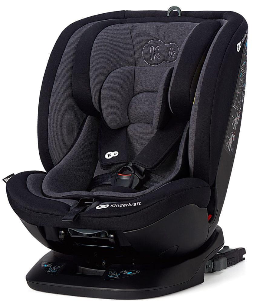 KinderKraft autosedačka XPEDITION ISOFIX 2021 black