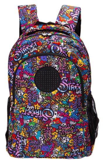 Pixie Crew Graffiti školska torba