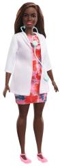 Mattel lalka Barbie Lekarka w kolorowej sukience