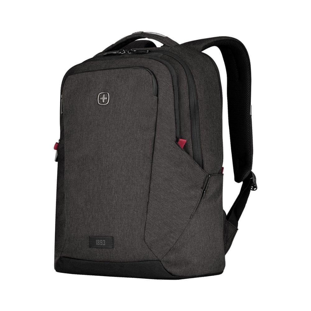 Wenger MX PROFESSIONAL - 16″ batoh na notebook 611641, šedá
