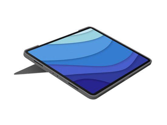 """Logitech Combo Touch ovitek s tipkovnico za iPad Pro 11"""", grafitno siv"""