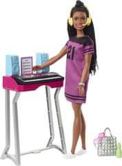 Mattel Barbie Dreamhouse adventures igralni komplet s punčko Brooklyn