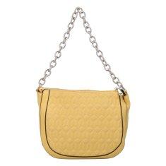 Michelle Moon Prošívaná dámská kabelka Ilja, žlutá