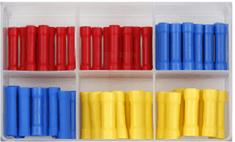 Sonic Okrúhle zásuvky - dutinky, rôzne rozmery, sada 100 kusov
