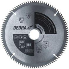 Dedra Kotúč rezný vidiový do neželezných kovov 210X100X30 - H210100