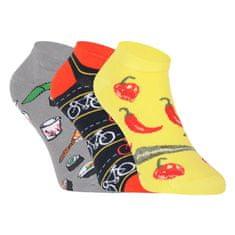 Lonka 3PACK veselé ponožky viacfarebné (Dedon mix C) - veľkosť S