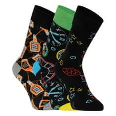 Lonka 3PACK ponožky viacfarebné (Depate mix i) - veľkosť M