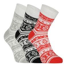 Fuski - Boma 3PACK ponožky vícebarevné (Ivana 50) - velikost M