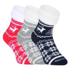 Fuski - Boma 3PACK ponožky vícebarevné (Norway) - velikost S
