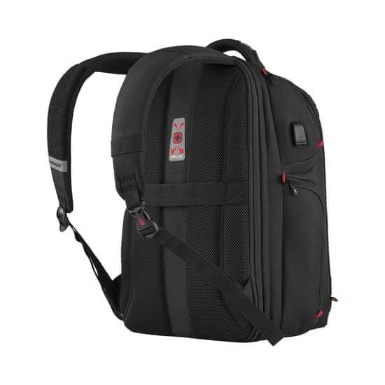 Wenger PlayerOne - 17,3″ gamer laptop hátizsák 611650, fekete