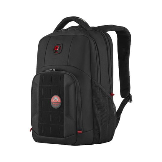 Wenger PlayerMode - 15,6″ gamer laptop hátizsák 611651, fekete