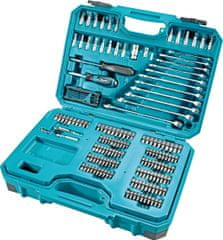 E-10883 221-delni set ročnega orodja in vijačnih nastavkov