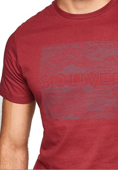 s.Oliver Męska koszulka o regularnym kroju 13.108.32.X596. 4577