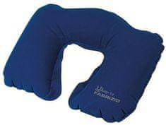 FABRIZIO Cestovní polštář Worldpack Blue