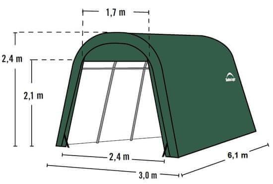 ShelterLogic plachtová garáž 3,0 x 6,1 m - 62584EU