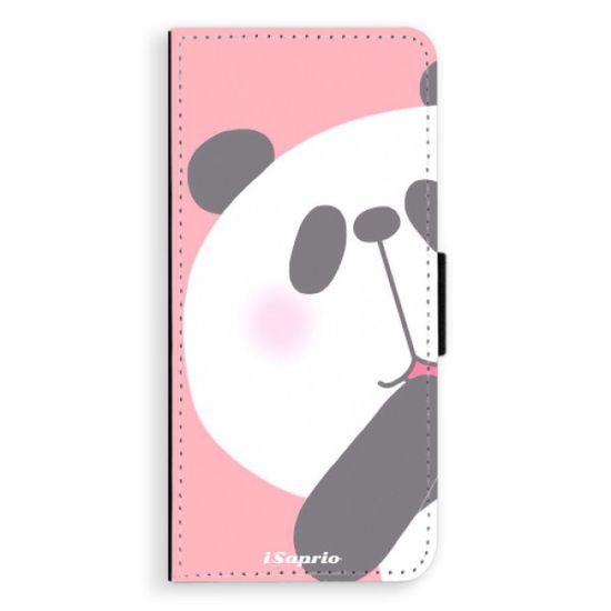 iSaprio Flipové pouzdro iSaprio - Panda 01 - Samsung Galaxy A8 Plus