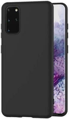 Maskica za Samsung Galaxy A02s A025, silikonska, mat crna