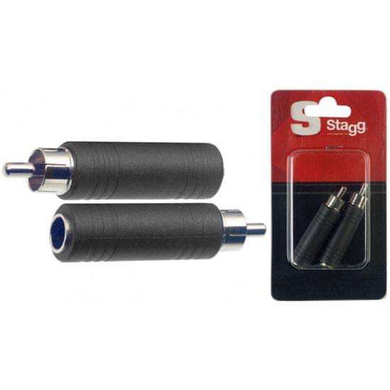 Stagg AC-PFCMH, redukce Jack 6,3 mm samice - Cinch samec
