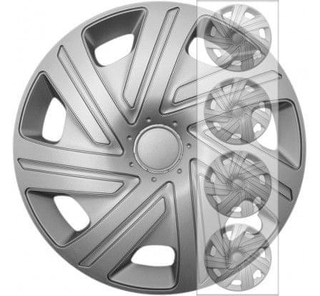 """E&N Autoparts Puklice kompatibilné na auto Honda 16"""" CYRKON silver"""