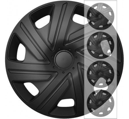 "E&N Autoparts Puklice kompatibilné na auto Volkswagen 14"" CYRKON čierne"