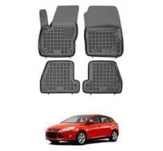 REZAW-PLAST Autorohože gumové so zvýšeným okrajom Ford Focus III 2011 - 2018