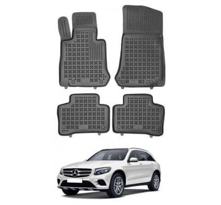 REZAW-PLAST Autorohože gumové so zvýšeným okrajom Mercedes GLC 2015 -