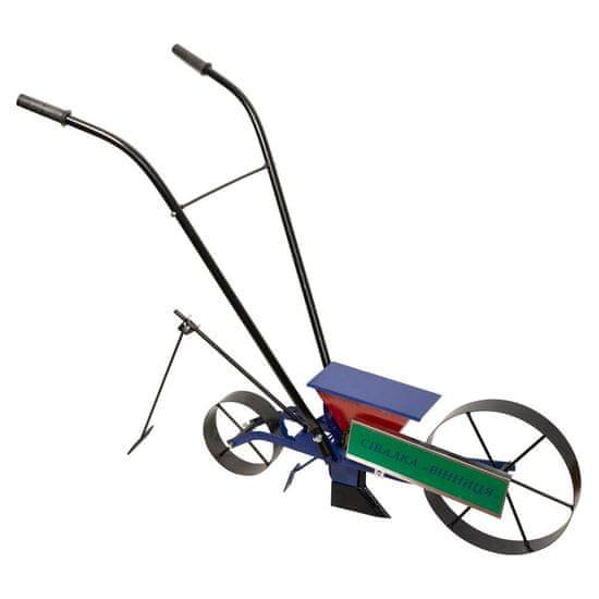 Mechanický secí stroj Vinita, typ bicykl