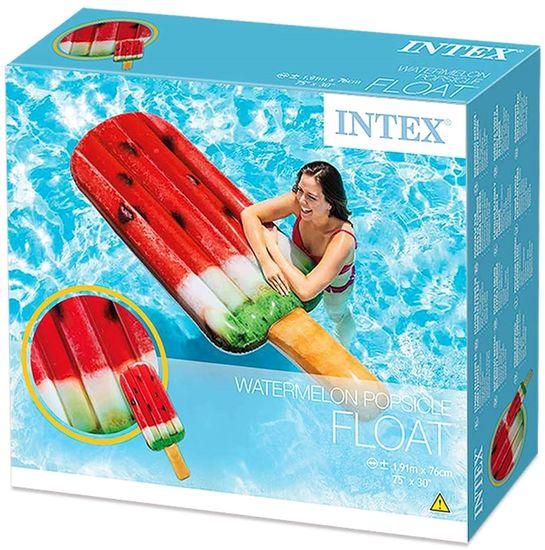 Intex 58751 Nafukovací lehátko nanuk meloun