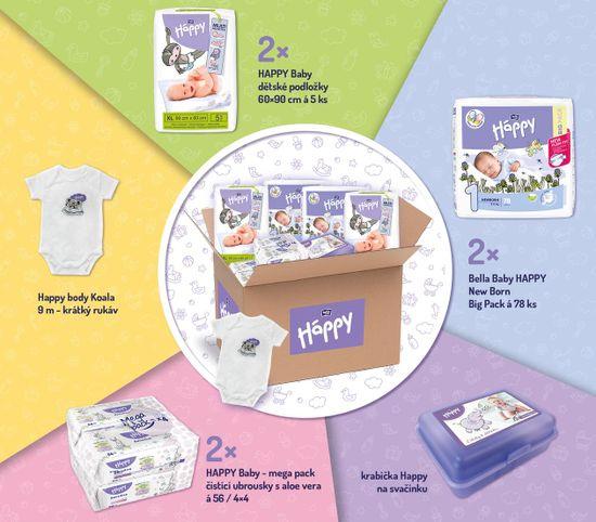 Bella Happy Start Box Newborn (2-5 kg) – jednorazové plienky
